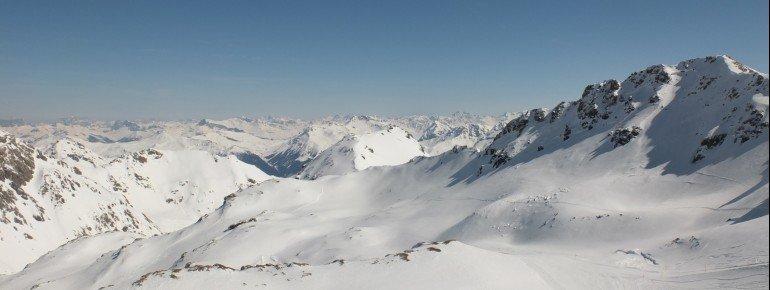 Aussicht vom Rothorn Gipfel