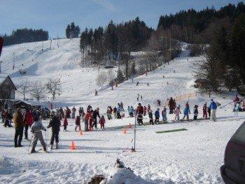 Das Gebiet um den Fantasticlift ist besonders beliebt bei Kindern und Anfängern.