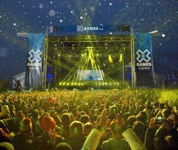 Bekannt ist Aspen Buttermilk auch als Austragungsort der Winter X Games