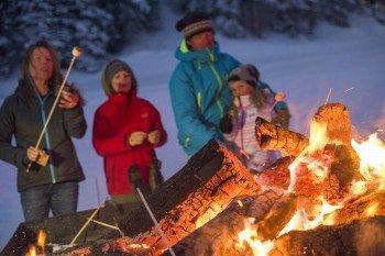 Willkommene Abwechslung zu Aspens Nachtleben: S'mores am Lagerfeuer