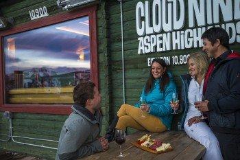 Entspannen im Cloud Nine Alpine Bistro