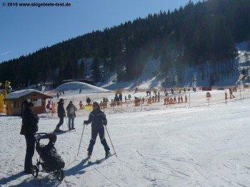 Ski-Kindergarten an der Talstation Schelpenbahn!