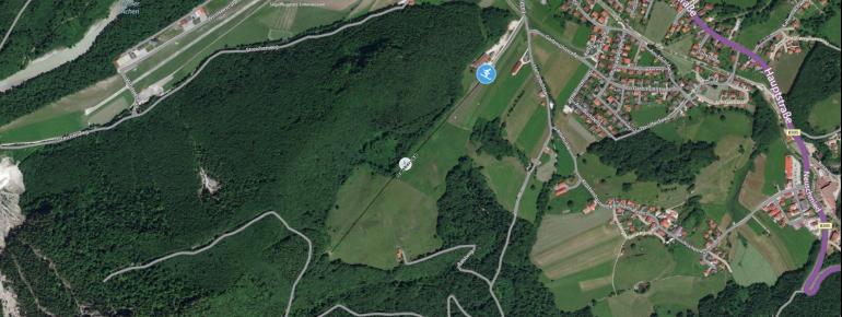 Pistenplan Balsberglift in Unterwössen