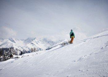 Nicht nur Skifahrer finden im Skigebiet Bergeralm ihre Lieblingsabfahrten