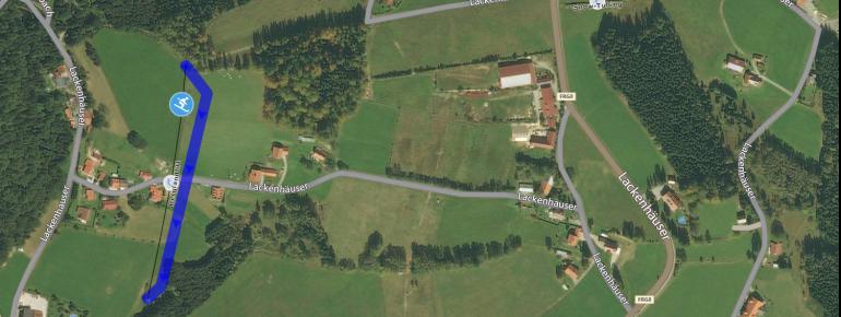 Pistenplan Berglandlift Lackenhäuser
