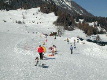 Auch für Familien ist das Skigebiet Bergün Filisur geeignet.