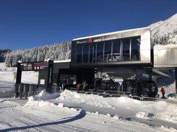 Die 1. Sektion der Oberen Karbahn ist bereits seit dem Winter 2019/2020 in Betrieb.