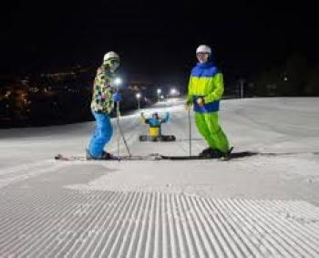 Nachtskifahren im Skigebiet Berwang