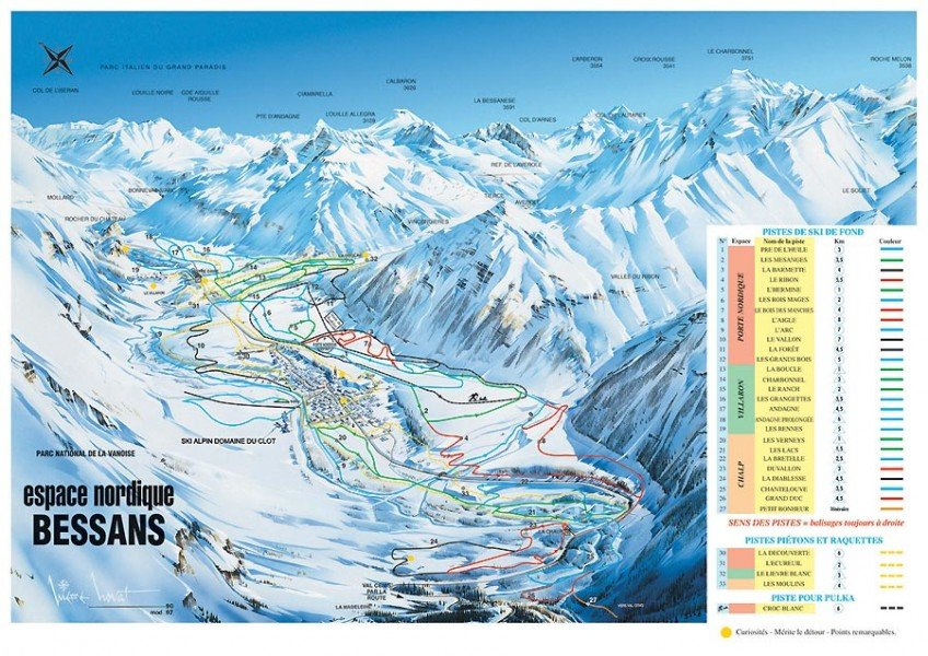 Skigebiet bessans skiurlaub skifahren testberichte - Office du tourisme bessans ...