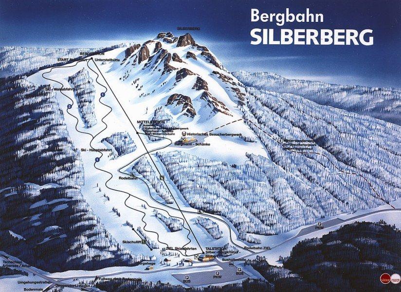 Schneehohen Bodenmais Silberberg Schneebericht Neuschneevorhersage
