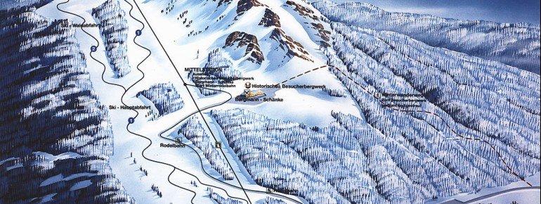 Pistenplan Bodenmais Silberberg