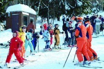 Skikurse am Silberberg