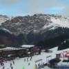 Blick aus der Webcam auf die Talstation des Lifts Bormio 2000.