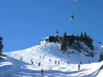 Die Bergstation am Brauneck