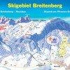 Pistenplan Skigebiet Breitenberg