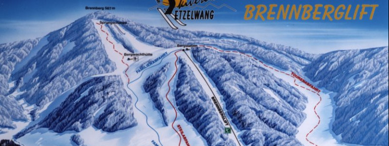 Pistenplan Brennberglift Etzelwang