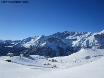 Anfängergebiet bei Salette (2245m)!