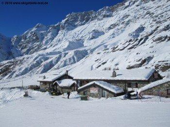 Berghütte bei Breuil Cervinia!