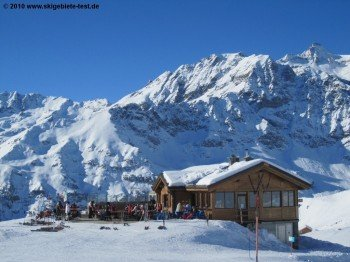 Hütte bei Salette (2245m)!