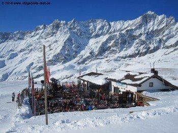 Hütte beim Plan Torrette (2470m)!