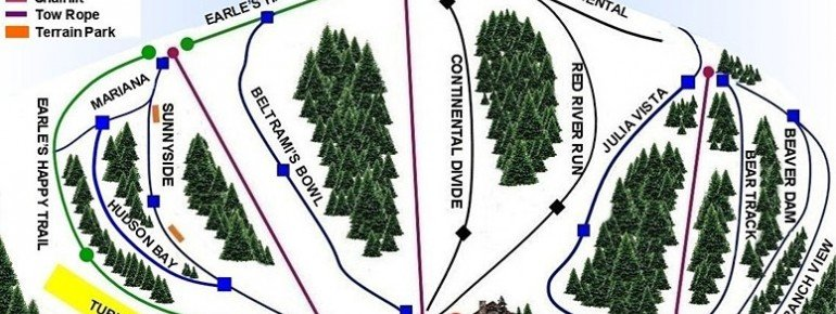 Pistenplan Buena Vista Ski Area