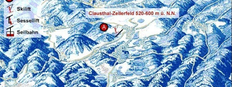 Pistenplan Clausthal Zellerfeld