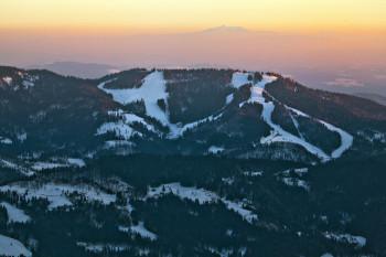 Das Skigebiet Cerkno liegt in der Region Gorenjska.
