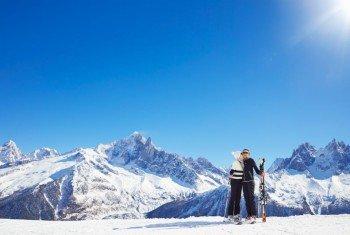Auf dem Gipfel des Brévent ist eine atemberaubende Aussicht garantiert