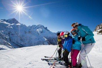 Pistenspaß für die ganze Familie am Col de Balme