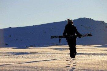 Die durchschnittliche Schneehöhe während der Saison beträgt 59 cm am Berg und 31 cm im Tal
