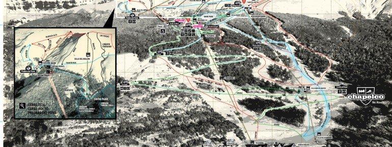 Pistenplan Chapelco