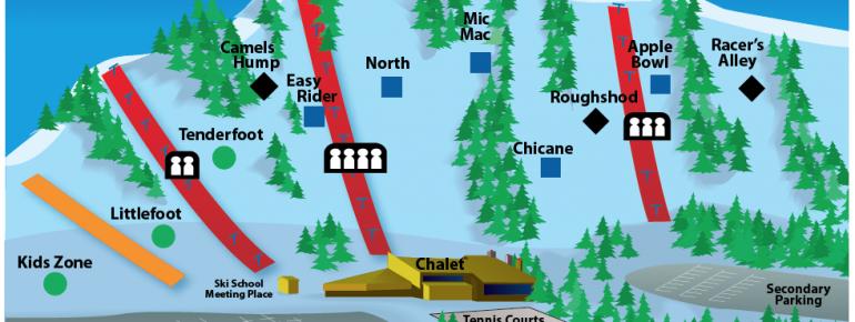 Pistenplan Chicopee Ski Club