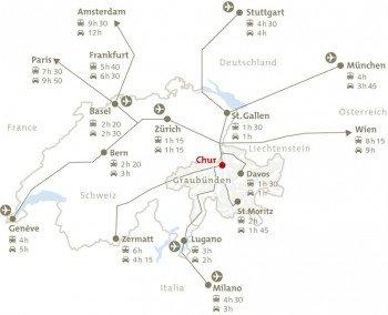 Anreise nach Chur