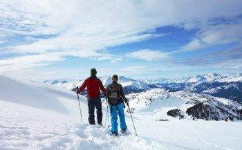 Schneeschuh-Rundtour am Dreibündenstein