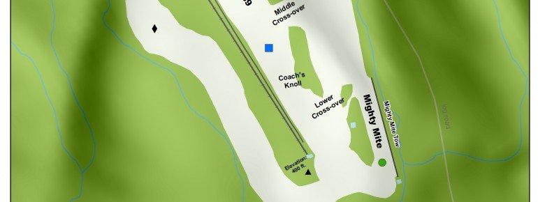 Pistenplan Cochran Ski Area