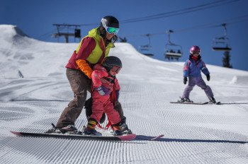 Das 1972 eröffnete Skigebiet Copper Mountain wartet mit 23 Liftanlagen auf begeisterte Skifahrer und Snowboarder.