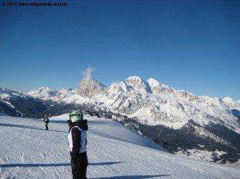 Panorama von der Bergstation des Vitelli Sessellifts Nummer 5!