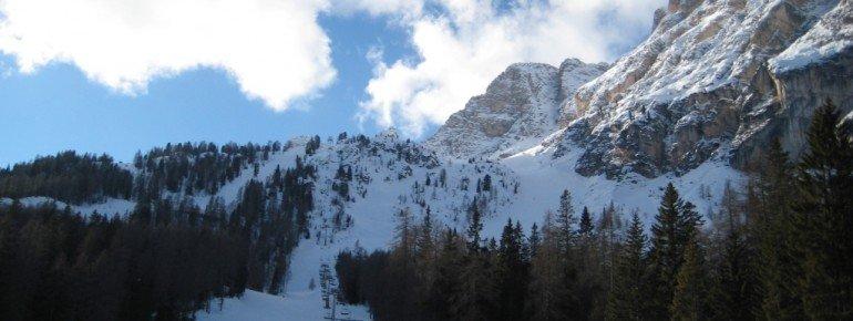Bereich um den Sessellift Rumerslo - Duca D'Aosta