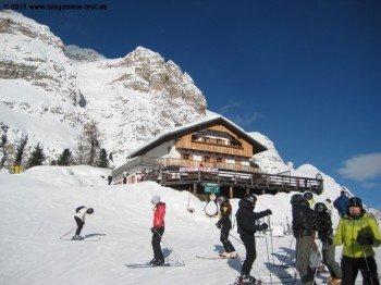 Rifugio Duca D'Aosta!