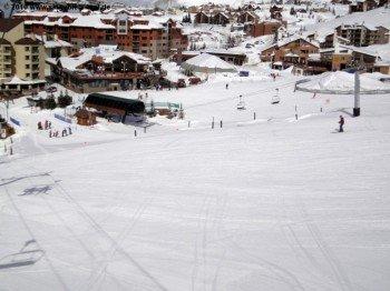 Die Pisten im unteren Bereich des Skigebiets sind fast ausnahmslos auch für weniger geübte Skifahrer geeignet.