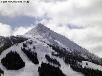 Die anspruchsvollsten Abfahrten befinden sich im Gipfelbereich von Mt. Crested Butte. Weiter unten kommen Genussskifahrer voll auf ihre Kosten.