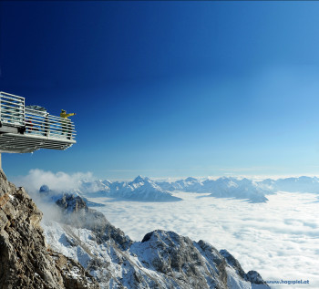 Der Skywalk am Dachstein