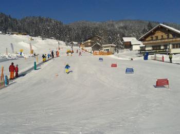 Das Skigebiet punktet bei Familien mit drei Kinderländern
