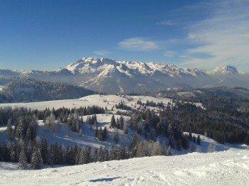Dachstein West punktet auch mit seinem schönen Panorama