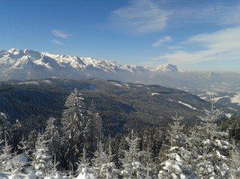Das Skigebiet erstreckt sich bis auf 1.620 Meter