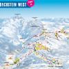 Pistenplan Dachstein West (Annaberg, Russbach, Gosau)