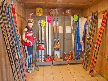 Blick ins Skimuseum