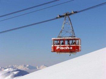 Der schneereichste Monat in Davos ist der März