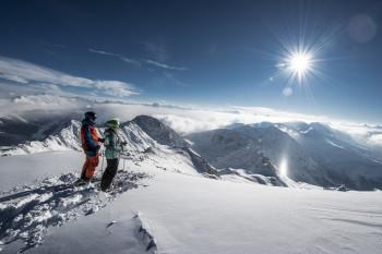 Parsenn ist das größte der fünf Teilgebiete der Davos Klosters Mountains.