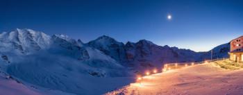 Glüna Plaina - Ein echtes Hightlight ist das Skifahren bei Vollmond.